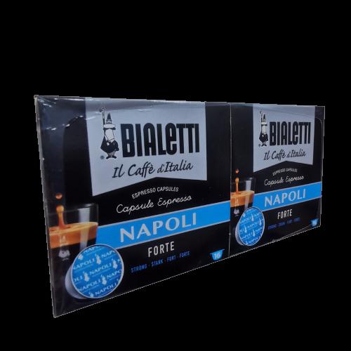 Caffè Bialetti Napoli Bipack 16+16pz