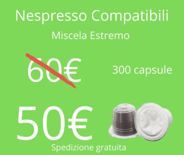 Caffè Sesto Senso Nespresso Estremo 300pz