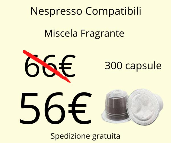 Caffè Sesto Senso Nespresso Fragrante 300pz
