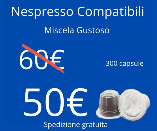 Caffè Sesto Senso Nespresso Gustoso 300pz